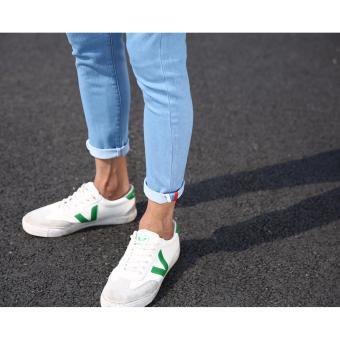 Men's Street Swaggy Plain Light Blue Jeans - 5