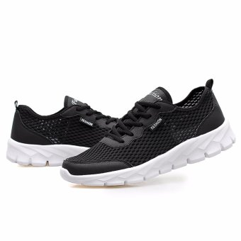 Men/women Mesh Shoes Running Shoes Color black EU 35-48 - 3