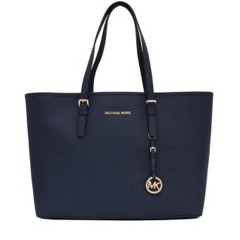 Michael Kors Macbook Large Tote Bag (Navy Blue)