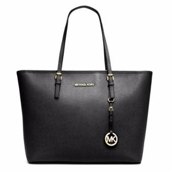 Michael Kors MC BOOK Tote Bag (Black)