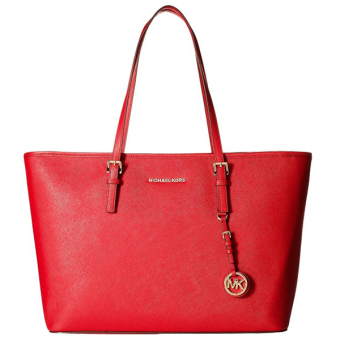 Michael Kors MC BOOK Tote Bag (RED)