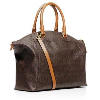 MICHAEL KORS Riley Large Logo Tote Bag Brown - 2