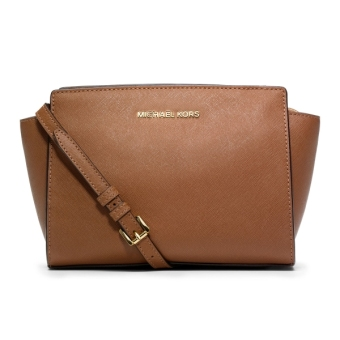 Michael Kors Selma Mini Crossbody Bag Brown