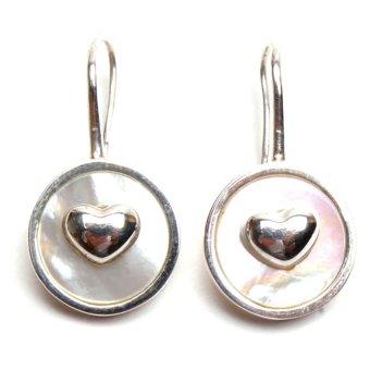 Michelis True Love Earrings (White)