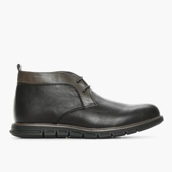 Milano Mens Norse Ankle Boots (Black)