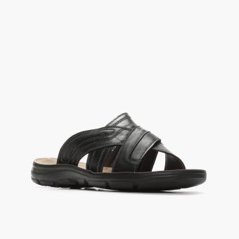 Milanos Mens Ever Sandals (Black) - 2