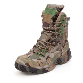 Military Tactical Ankle Boots Cordura Desert Combat Army HikingShoes
