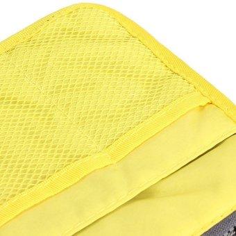 Mini Women Nylon Cosmetic Makeup Bags Organizer Storage Bag Pouch Holde( Yellow) - 3