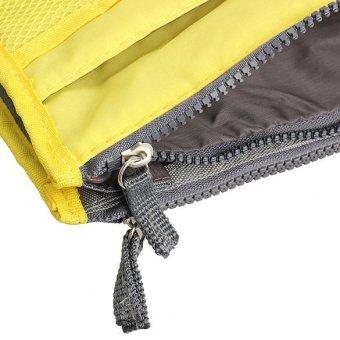 Mini Women Nylon Cosmetic Makeup Bags Organizer Storage Bag Pouch Holde( Yellow) - 4