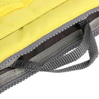 Mini Women Nylon Cosmetic Makeup Bags Organizer Storage Bag Pouch Holde( Yellow) - 5