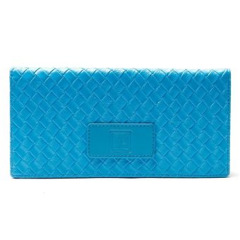 MJ WLTE09-ALW-23 Ladies' Slim Long Wallet (Sky Blue)