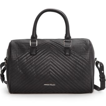 MNG Mango Moire Bowling Bag (Black) Price Philippines