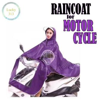 Motorcycle Raincoat Moto Rain Coat (Violet)