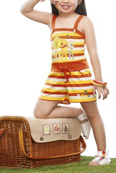 MSE Chrissy Jumpsuit (Orange) - 2