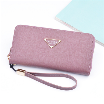 Multi-functional large capacity clutch bag New style women's wallet (Purple)