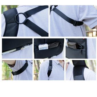 Multifunction Men's Anti-Theft Hidden Underarm Shoulder Bag Holster Black - 4