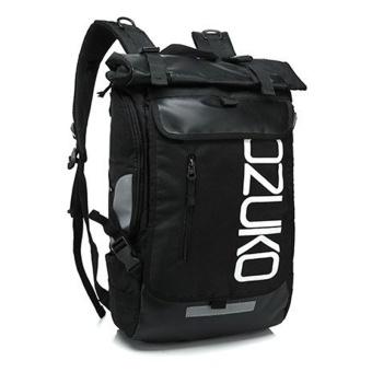 Munoor Men Backpacks Rucksack Business Travel 15.6inch Laptop Bag School College Bag Daypack (Black) - intl - 2