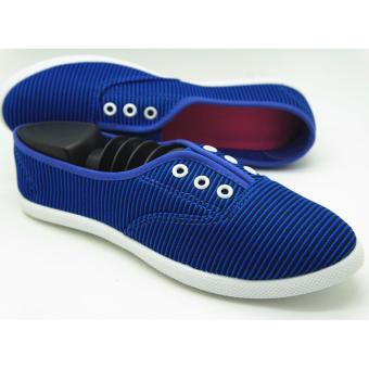 Muse Kristy Slip-on Sneakers (Navy)