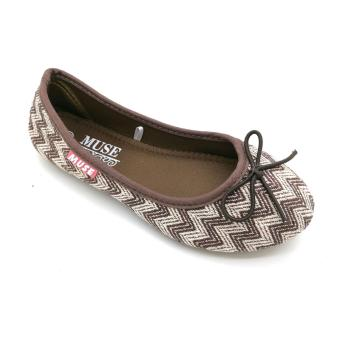 Muse Leighton Ballet Flats (Brown)