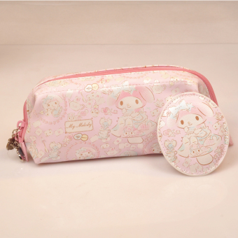 MymelodyHan version female New style mini coin bag purse (Long makeup bag)
