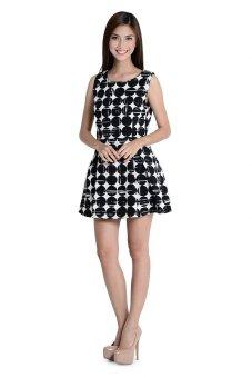 Nadine 1 Dress By Fashion Haus Online (Black/White)