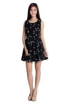 Nadine 2 Dress By Fashion Haus Online (Black/White)