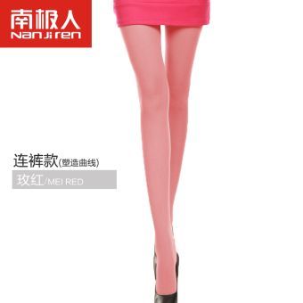 Nan Ji Ren Swan Velvet black anti-hook sexy leggings pantyhose (With pants rose)