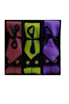 Necktie Gift Set B Bundle of 3