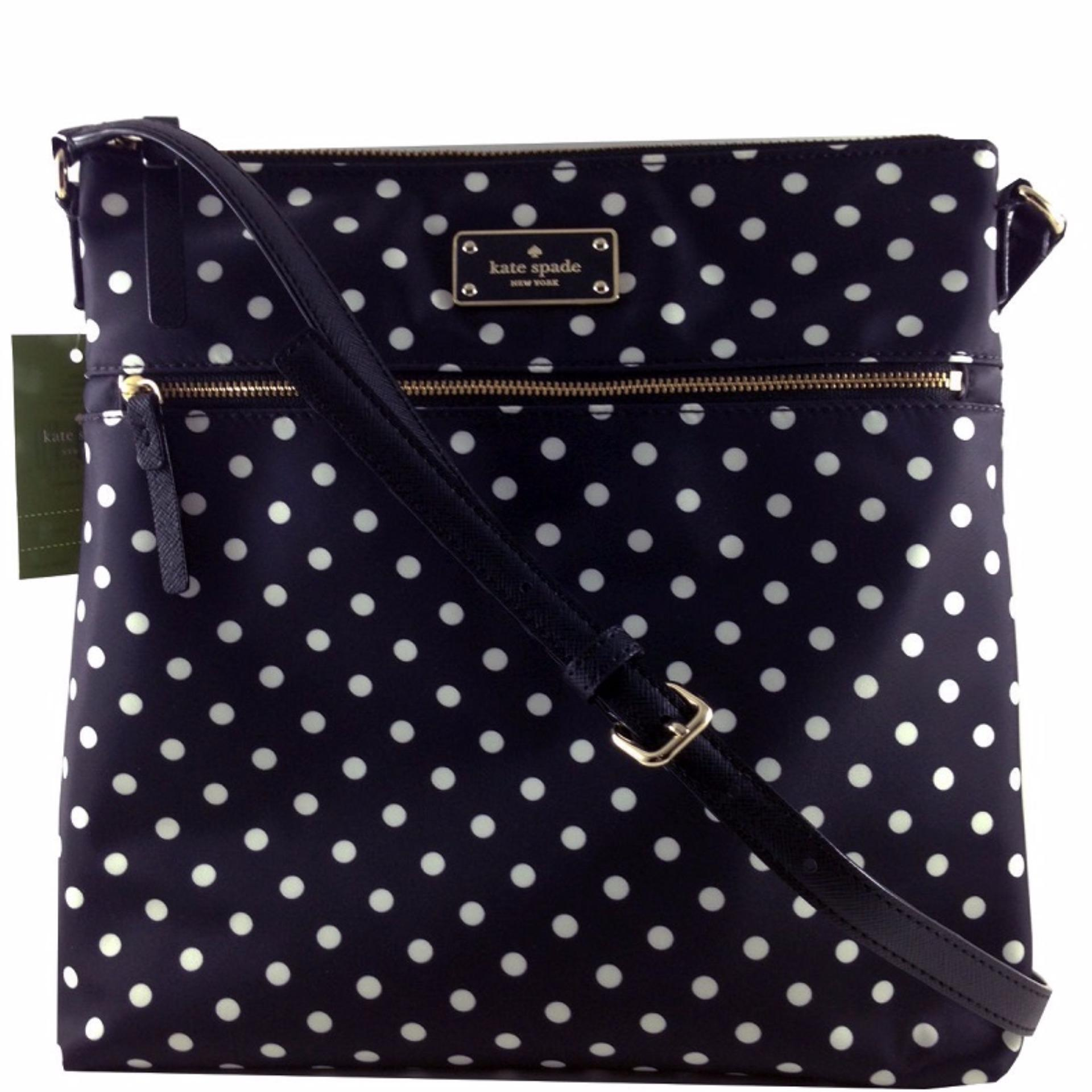Philippines new authentic kate spade keisha wkru3618 blake new authentic kate spade keisha wkru3618 blake avenue crossbody polka dot bag junglespirit Image collections