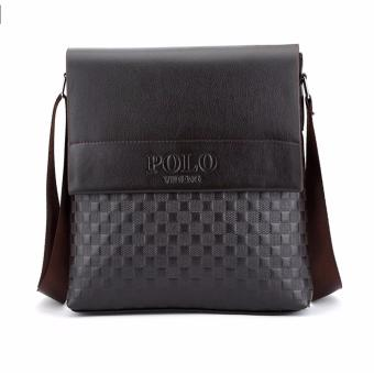 New Arrival Fashion Business Leather Men Messenger Bags PromotionalSmall Crossbody Shoulder Bag Casual Man Bag