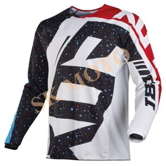 New Arrival HC Motocross Jersey Motorcycle Long Sleeve Racing T-Shirt Dirt Bike Cycling DH MX ATV Jerseys S-XXL( White ) - intl