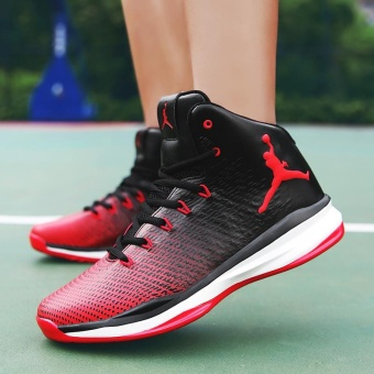 New Arrival Mens Basketball Shoes Breathable Outdoor Waterproof Sneakers for Men - intl - 4