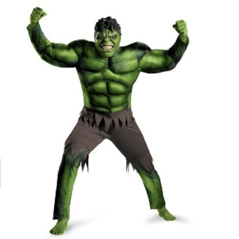 New Avengers Cosplay Hulk Costumes for kids/ Fancy dress/HalloweenCarnival Party Cosplay Boy Kids Clothing Decorations Supplies -intl