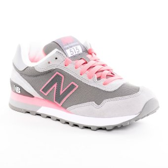 new balance white and pink