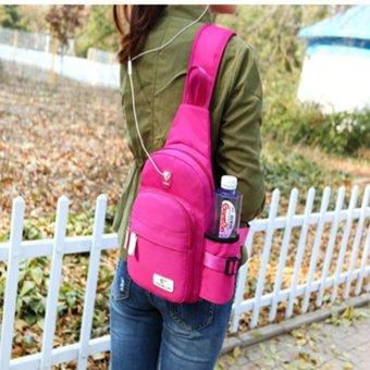 New Cross Body Rucksacks Men's Messenger Back Pack Women Bottle Bags - intl - 5
