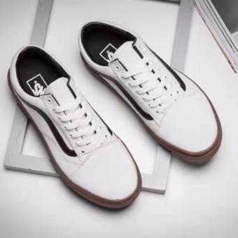 vans shoes white. new fashion vans shoes old skool skates - intl white