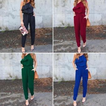 New Fashion Women Ladies Jumpsuit Romper Trousers - intl - 2