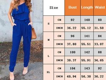 New Fashion Women Ladies Jumpsuit Romper Trousers - intl - 4