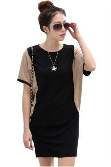 New Korean Fashion Women Short Sleeve Casual Dress HDS046 - 2