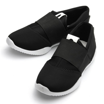 New Men's England Canvas Casual Sneakers Sport Breathable Running Shoes Trainers Black - intl - 4