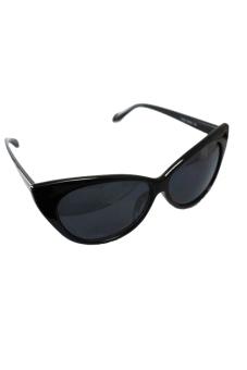 New Retro Sunglasses Cat Sun Glasses (Black)