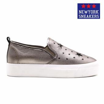 New York Sneaekers Fragapane Slip On Shoes(BRONZE) - 2