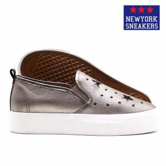New York Sneaekers Fragapane Slip On Shoes(BRONZE) - 3