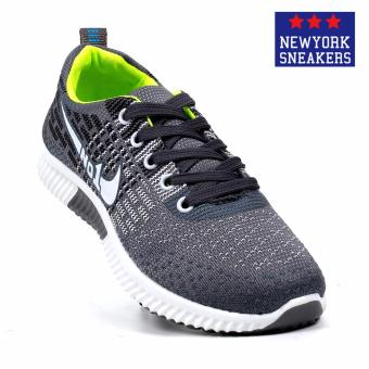 New York Sneakers Aiyana Rubber Shoes(GREY)