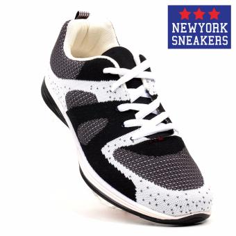 New York Sneakers AL155 Rubber Shoes(WHITE/BLACK)