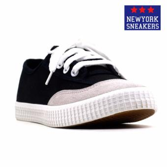 New York Sneakers Althea Low Cut Shoes(BLACK)
