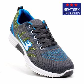 New York Sneakers Andre Rubber Shoes(GREY)