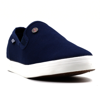 New York Sneakers Ansel Slip On Shoes (NAVY)