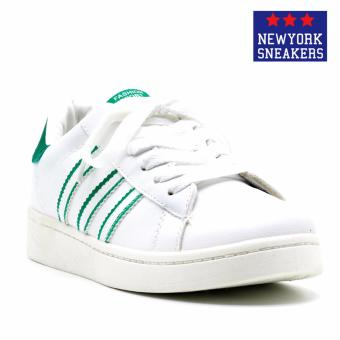 New York Sneakers Bushell Rubber Shoes(WHITE/GREEN)