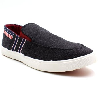 New York Sneakers Cayson Slip Ons Shoes (Black)